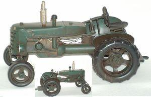 Traktor Grön