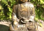 BUDDHAFIGUR GJUTJÄRN