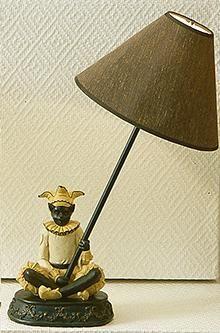 Bordslampa Narr/katt